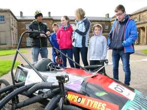 We were joined by Guy Martin, who helped with the judging and gave the young people some tips on how to race their soap boxes